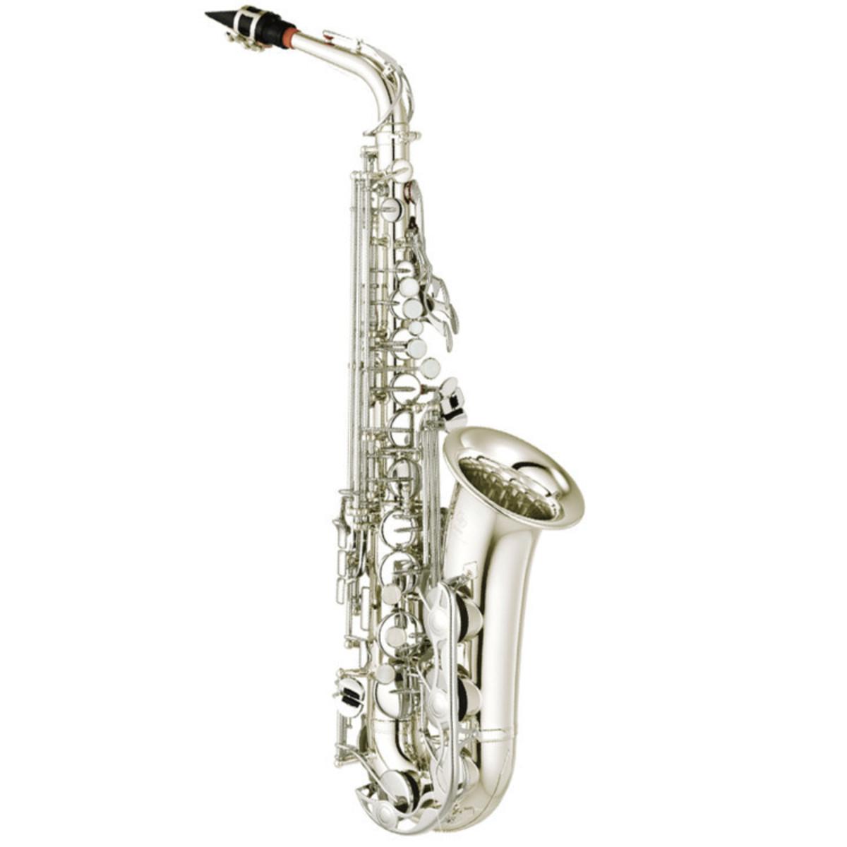 Yamaha yas280 student alto saxophone silver ex demo at for Yamaha student saxophone