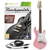 Rocksmith 2014 Xbox 360 + 3/4 LA Electric Guitar, Pink