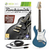 Rocksmith 2014 Xbox 360 + 3/4 LA Electric Guitar, Blue