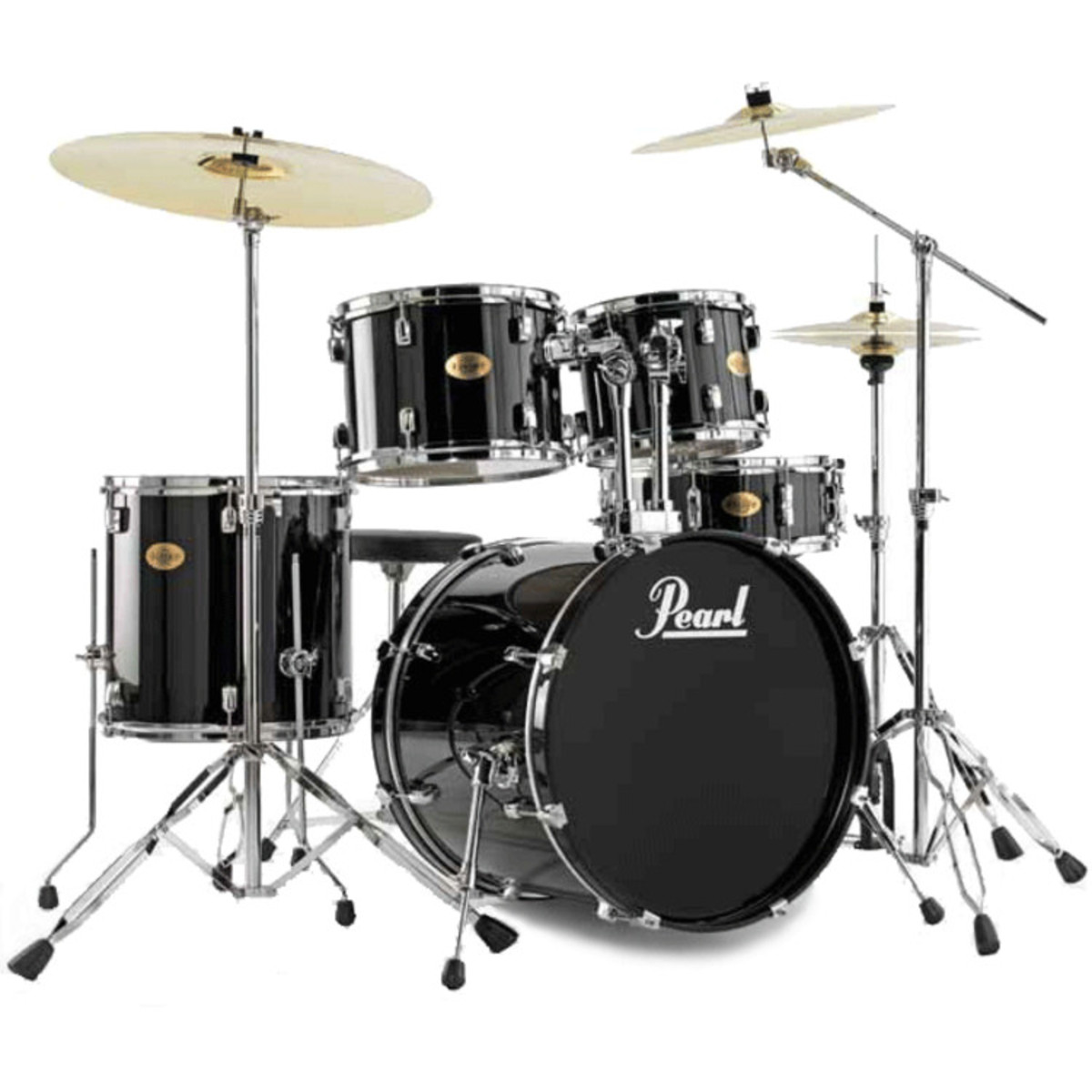 Disc Pearl Target Drum Kit Limited Edition Jet Black At