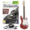Rocksmith 2014 Xbox 360 + 3/4 LA Electric Guitar, Wine Red