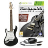 Rocksmith 2014 Xbox 360 + 3/4 LA Left Handed Electric Guitar, Black