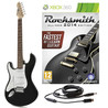 Rocksmith 2014 Xbox 360 + LA Left Handed Electric Guitar, Black
