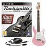 Rocksmith 2014 PS3 + 3/4 LA Electric Guitar, Pink