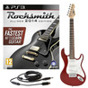 Rocksmith 2014 PS3 + 3/4 LA Electric Guitar, Wine Red