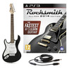 Rocksmith 2014 PS3 + 3/4 LA Left Handed Electric Guitar, Black