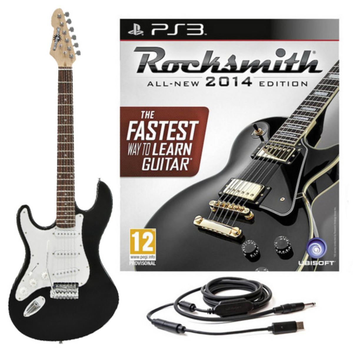 rocksmith 2014 ps3 guitare lectrique la pour gaucher. Black Bedroom Furniture Sets. Home Design Ideas