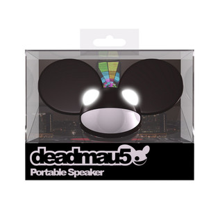 KitSound Deadmau5 Portable Mini Speaker, Black