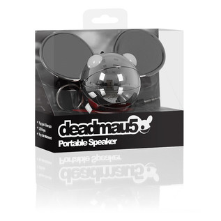 KitSound Deadmau5 Portable Mini Speaker, Chrome