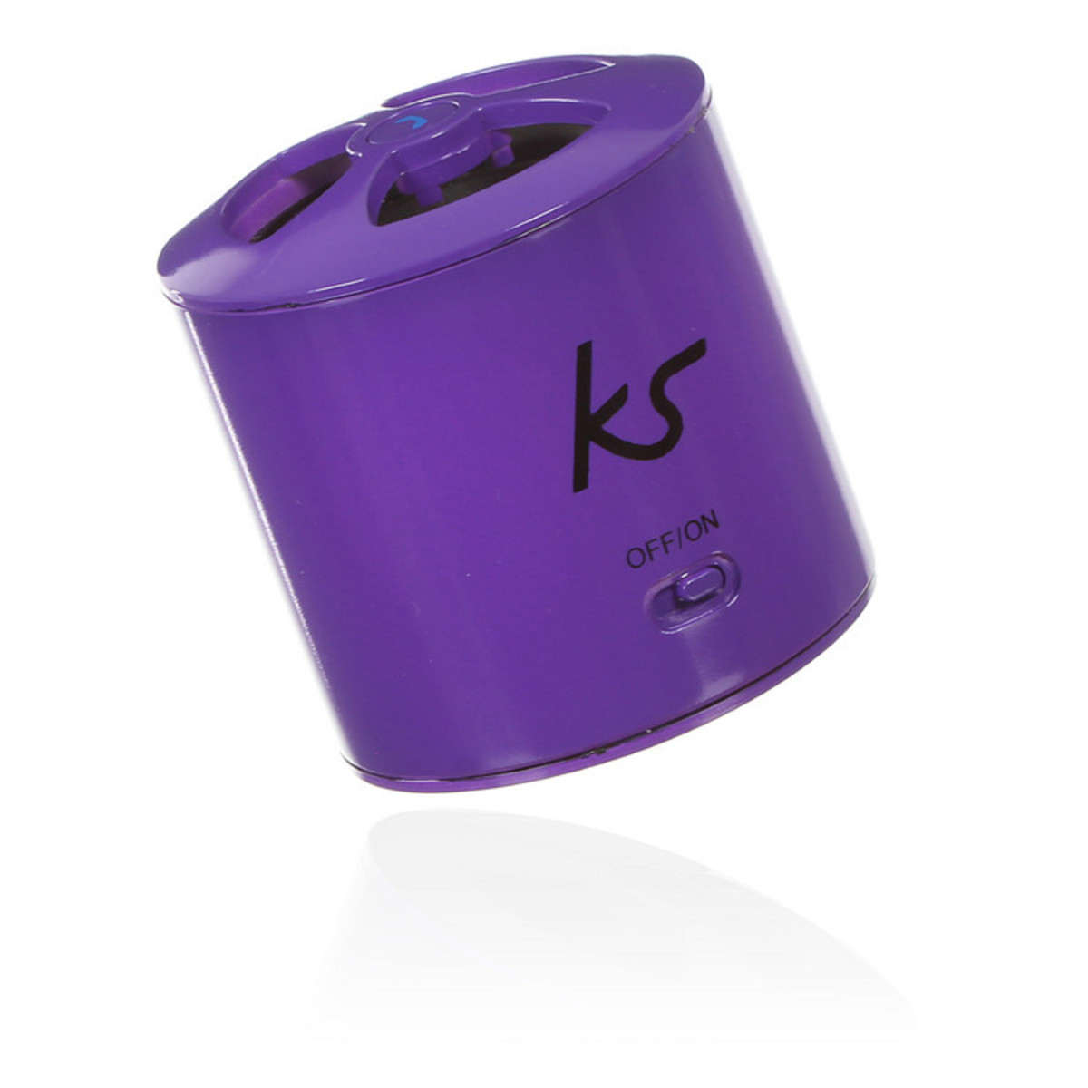 haut parleur kitsound pocketboom portable bluetooth en violet. Black Bedroom Furniture Sets. Home Design Ideas