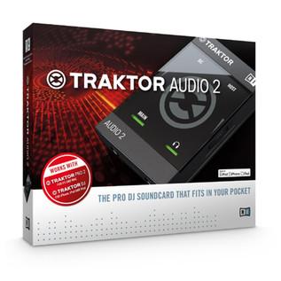 Native Instruments Traktor Audio 2 MK2 Portable Soundcard