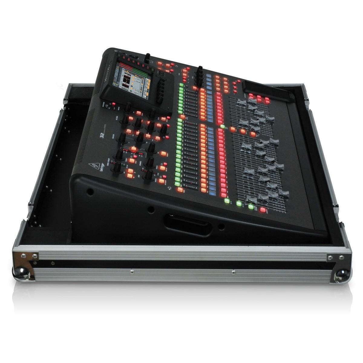 Behringer x32 tp console de mixage num rique avec flight case - Console numerique behringer ...