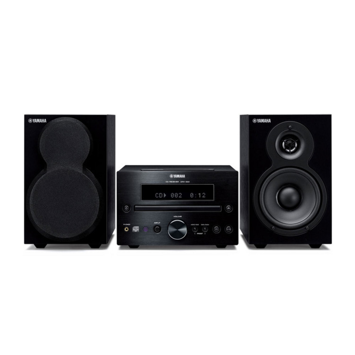 Disc yamaha mcr 232 micro component speaker system with for Yamaha sound dock