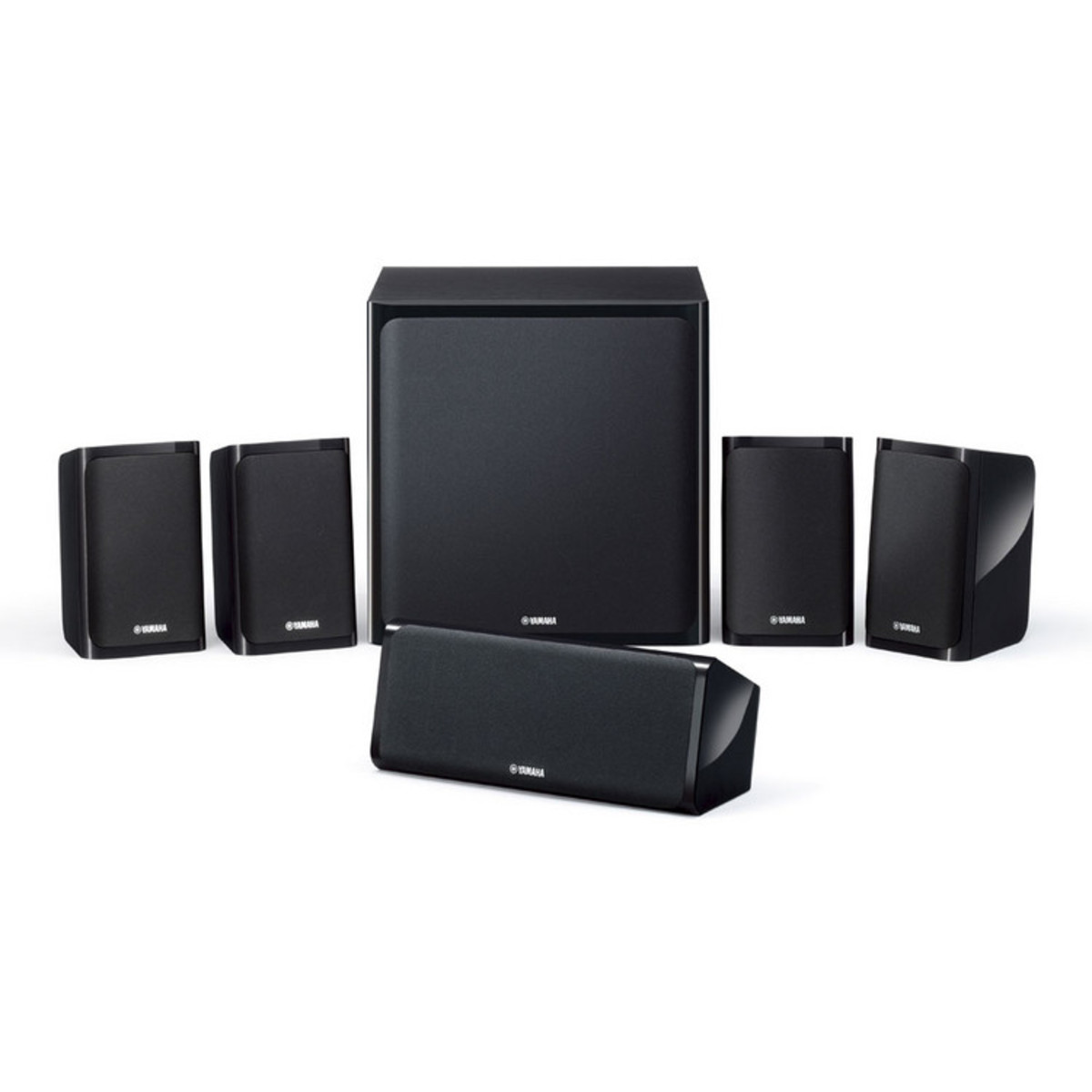 Yamaha ns p40 5 1 surround sound system black at for Yamaha sound system