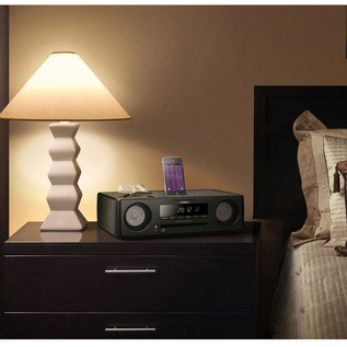Yamaha TSX-132 Speaker System with iPod Dock, Black