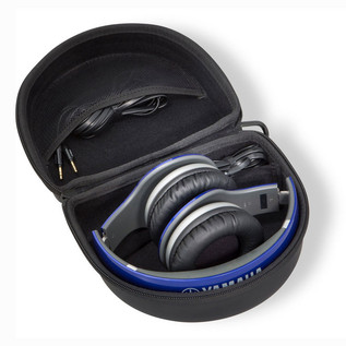 Yamaha HPH-PRO500 Premium High-Fidelity Over-Ear Headphones, Blue