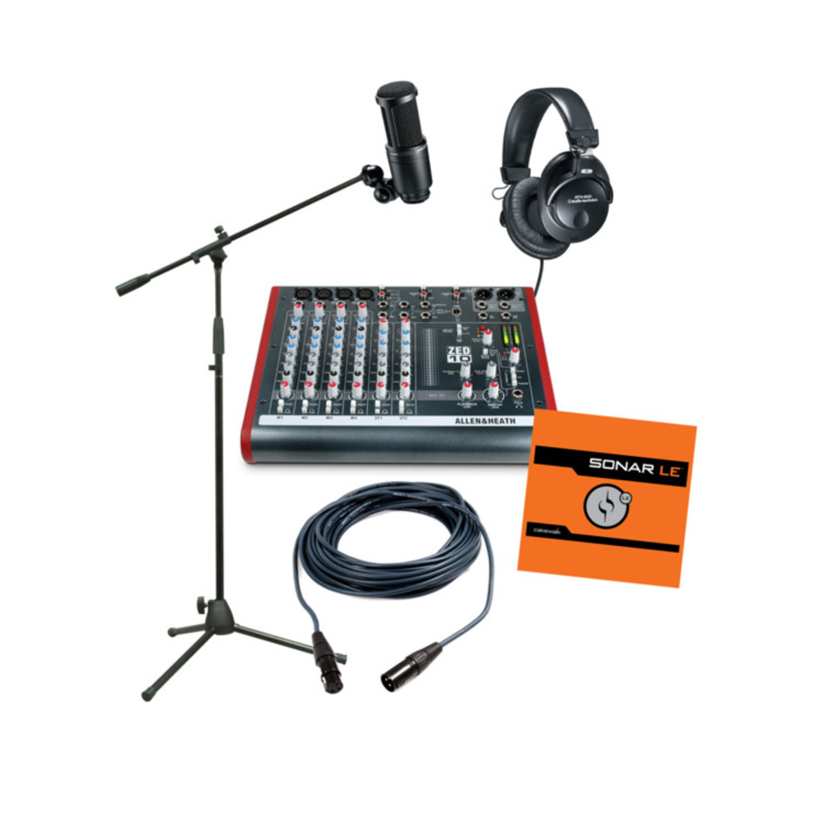 disc allen and heath complete solo recording pack at. Black Bedroom Furniture Sets. Home Design Ideas