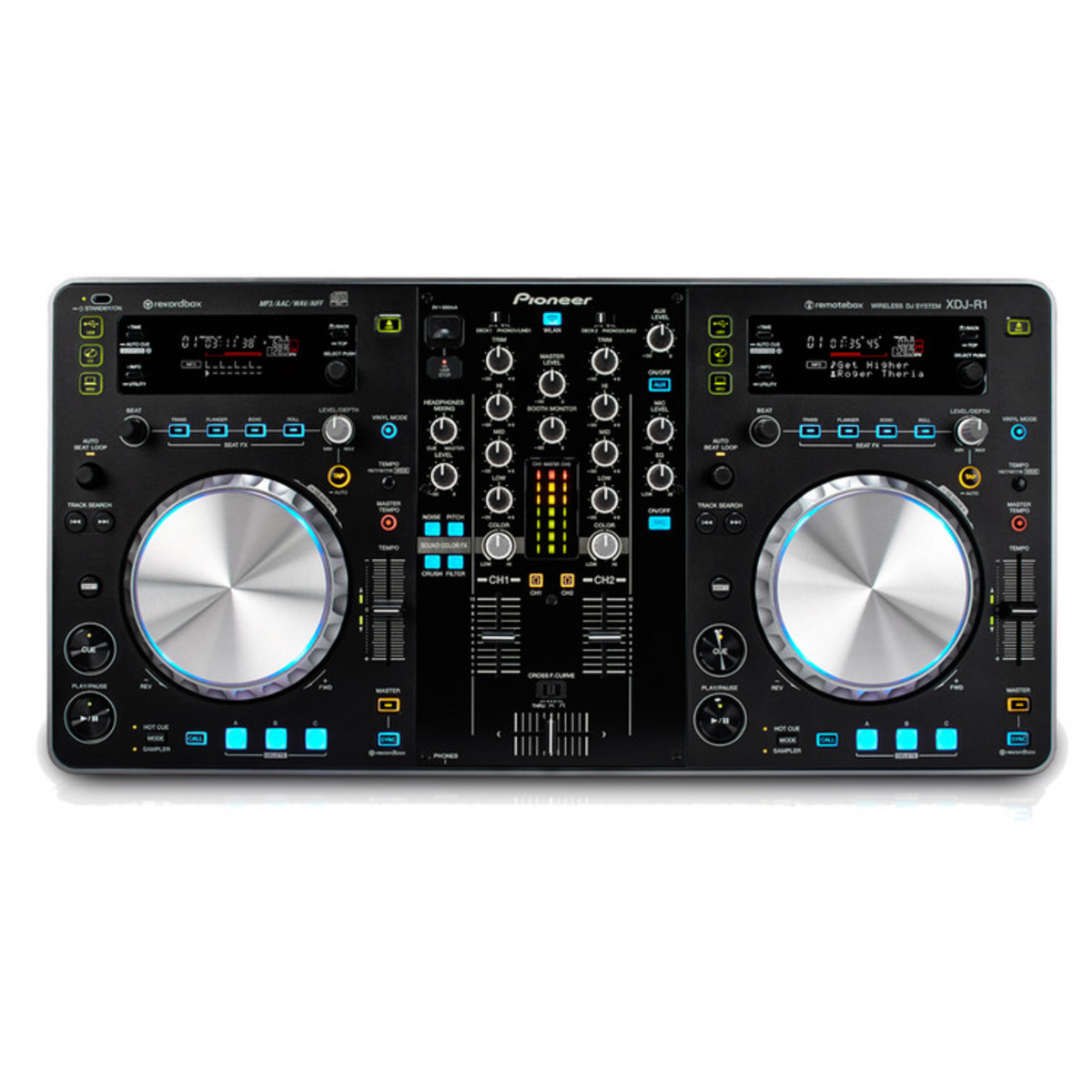 Pioneer xdj r1 controlador midi y usb en for Media markt mesa de mezclas