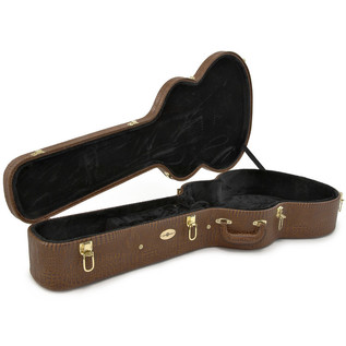 Deluxe Arch Top Jazz Guitar Case by Gear4music