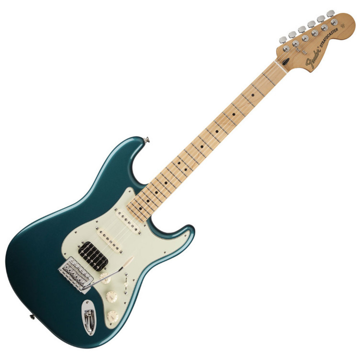 disc fender deluxe lone star stratocaster guitar mn ocean turquoise at. Black Bedroom Furniture Sets. Home Design Ideas