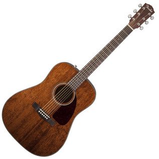 Fender CD-140S Acoustic Guitar, All Mahogany