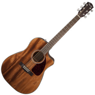 Fender CD-140SCE Electro-Acoustic Guitar, All Mahogany