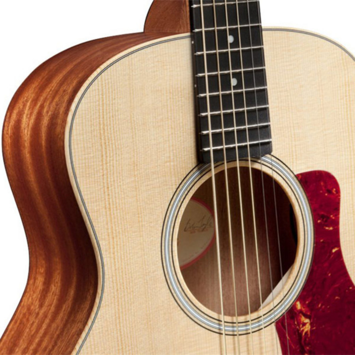 taylor gs mini acoustic guitar with free elixir strings at. Black Bedroom Furniture Sets. Home Design Ideas