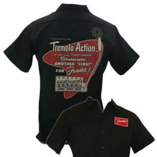 Fender Tremolo Work Shirt, Large