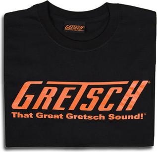 Great Gretsch Sound T-Shirt, Black, Medium