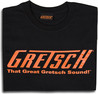 Great Gretsch lyd T-Shirt, sort, XXL