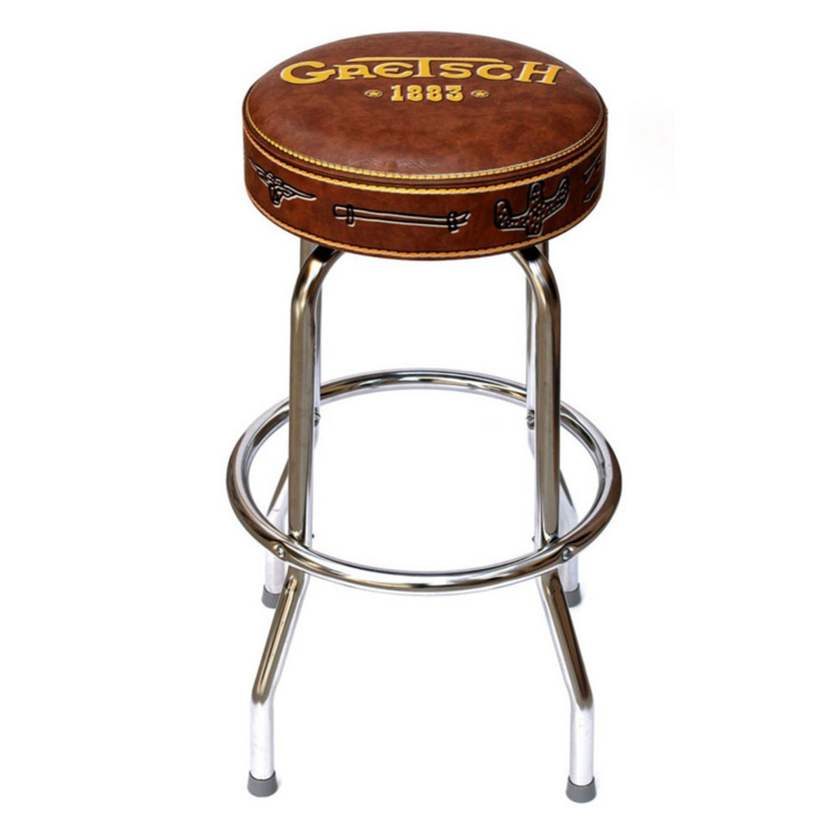 Gretsch 1883 24 inch bar stool at for 24 inch bar stools