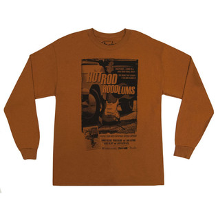 Fender Hotrod Hoodlums T-Shirt, Orange, XXL