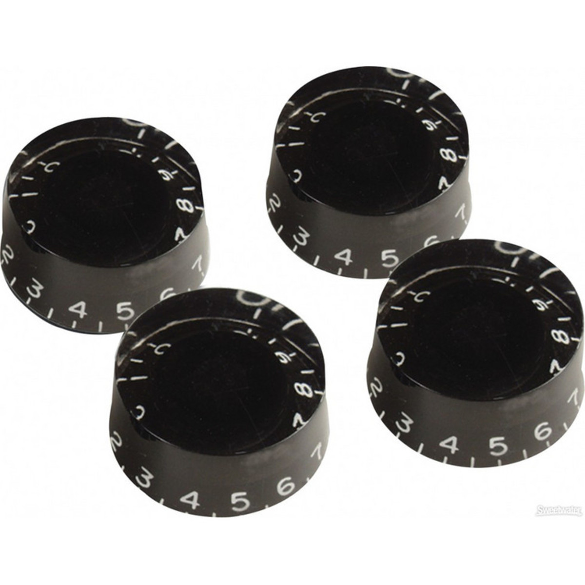 gibson speed knobs for electric guitar 4 pack black at. Black Bedroom Furniture Sets. Home Design Ideas