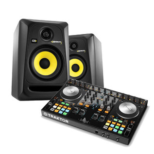 Native Instruments Traktor Kontrol S4 MK2 + KRK RP5 Bundle