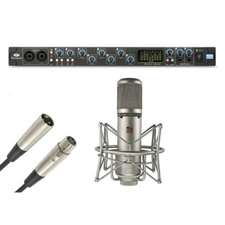 Focusrite Saffire Pro 40 Firewire Interface and SE2200T Tube Mic