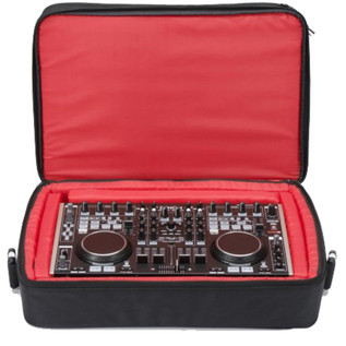 Magma Digi Control DJ Bag, Black/Red, XL Fits S4