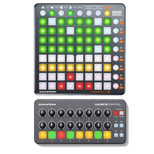 Novation Launch Control and Launchpad S Software Controller