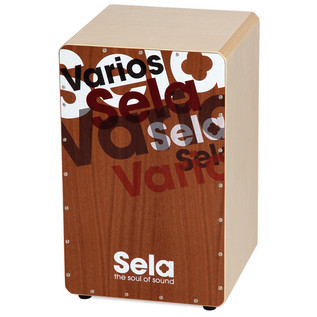 Sela Varios PreAssembled Cajon with Removable Snare System