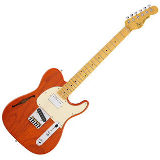 G & L Tribute ASAT Classic Blues Boy, Semi Hollow, MN, Orange