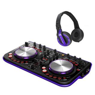 Pioneer HDJ WeGo Controller Bundle, Violet