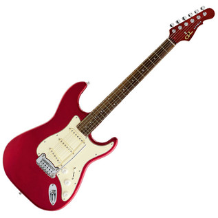 G&L Tribute Legacy Guitar, RW, Candy Apple Red