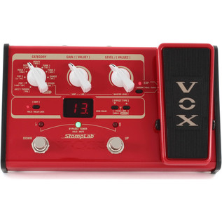 Vox Stompbox IIB Bass Guitar Multi-Effects with Expression Pedal