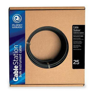 Planet Waves Cable Station Bulk Instrument Cable, 25 Feet