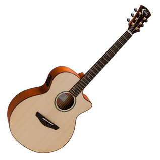 Faith Venus Concert Cutaway Electro Acoustic Guitar, Natural