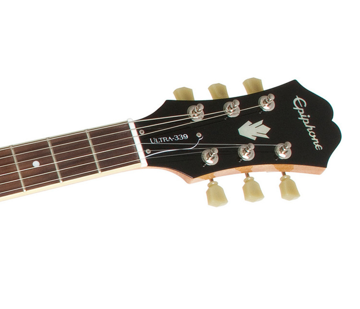 epiphone ultra 339 semi acoustic natural nearly new at. Black Bedroom Furniture Sets. Home Design Ideas