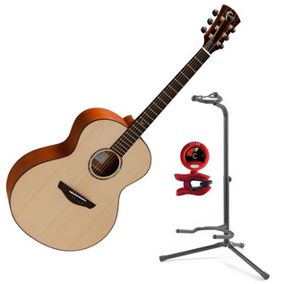 Faith Neptune Baby Jumbo Acoustic with FREE Snark Tuner and Stand