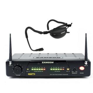 Samson Airline 77 QE UHF Vocal Headset System E2