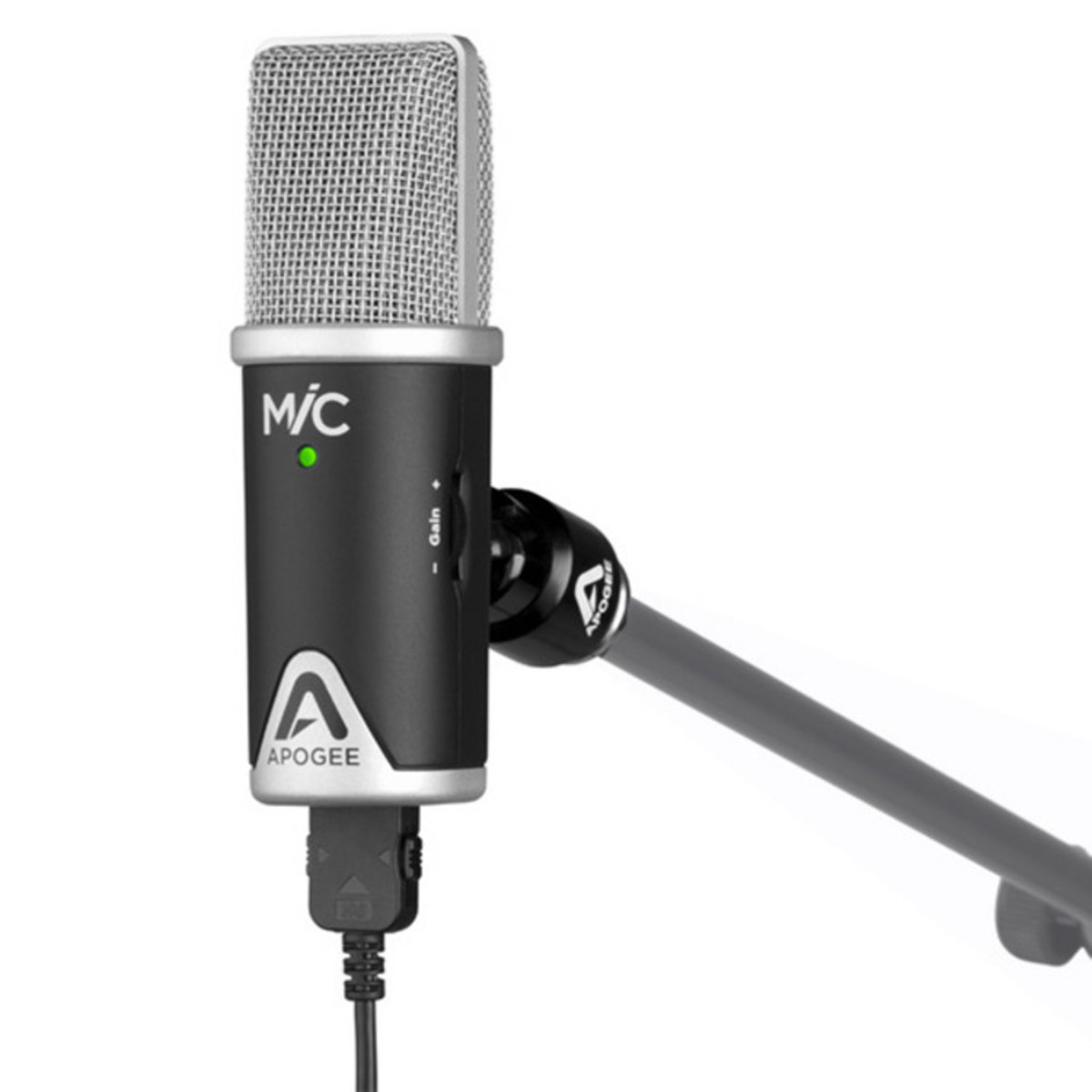 apogee mic 96k usb microphone for ipad iphone and mac at. Black Bedroom Furniture Sets. Home Design Ideas