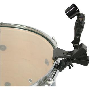 Audix D-Flex Dual Pivot Rim Mounted Clip