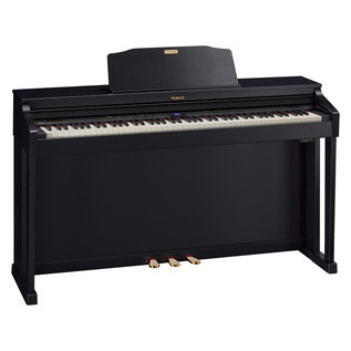 Roland HP-504 Digital Piano, Contemporary Black